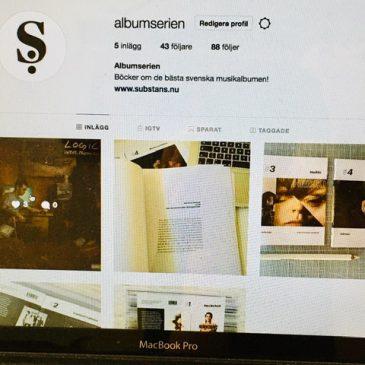Följ Albumserien på Facebook och Instagram!